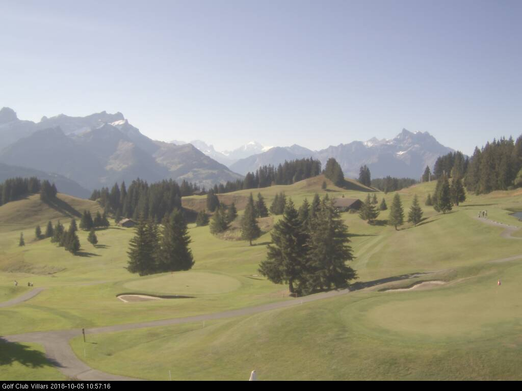 Webcam Golf Club Villars